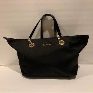 Calvin Klein Black Tote Bag